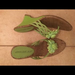 Lower Green Casual Sandal